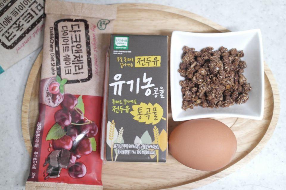 NO밀가루 단백질 쉐이크빵