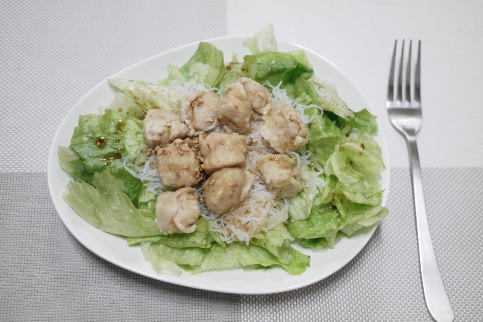 오리엔탈 다이어트 드레싱 닭가슴살샐러드
