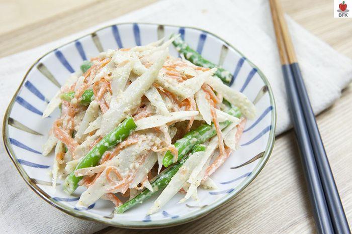 초간단 우엉 샐러드