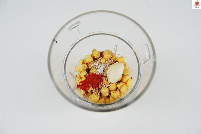 병아리 콩으로 후무스 만들기