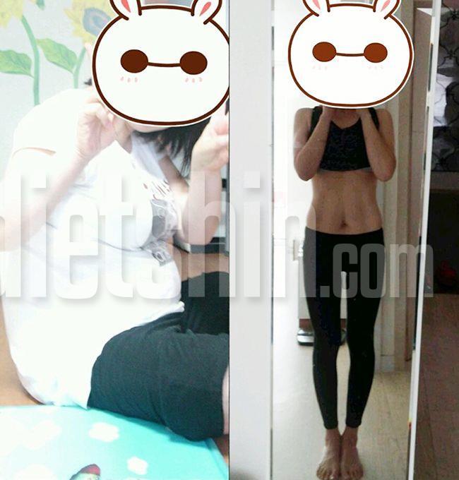 70kg대→50kg대로 감량 - 비키니마미 편